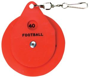 Markwort Officials Football Yardmark W/Clip