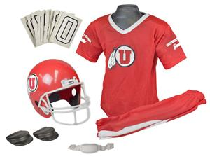 Collegiate Youth Football Team Uniform Set UTAH