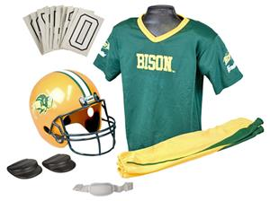 Collegiate Youth Football Team Uniform Set NDSU