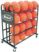 Markwort Stag Basketball Trolley 32 Ball Rack