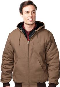 TRI MOUNTAIN Foreman Hooded Workwear Jacket