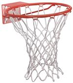 Markwort White Nylon Basketball Goal Net
