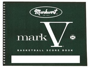 Markwort Mark V Basketball Scorebooks 30 Games
