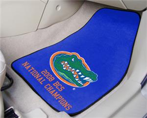 Fan Mats University of Florida BCS Carpet Car Mats
