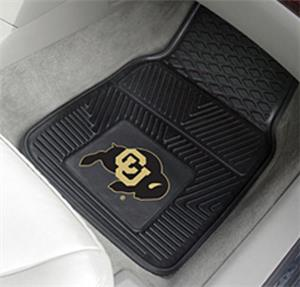Fan Mats University of Colorado Vinyl Car Mats