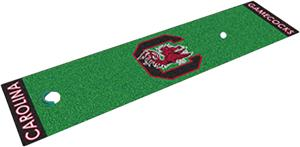 Fan Mats U. of South Carolina Putting Green Mat