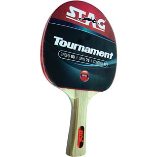 Stag Tournament Table Tennis Racket Flared Handle