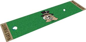 Fan Mats Wake Forest University Putting Green Mat