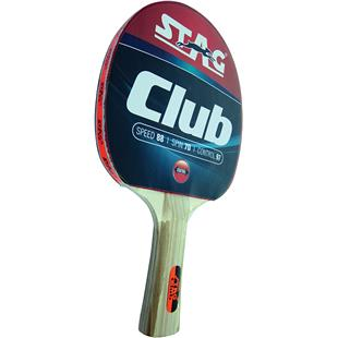 Stag Club Table Tennis Racket w/Flared Handle