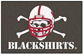 Fan Mats Univ. of Nebraska BlackShirts Starter Mat