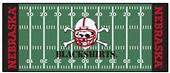 Fan Mats Nebraska Black Shirts Football Runner