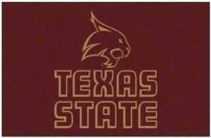 Fan Mats Texas State Univ. San Marcos Starter Mat