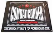 Combat Corner MMA Digitally Printed Gym Banner