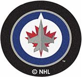 Fan Mats NHL Winnipeg Jets Puck Mats