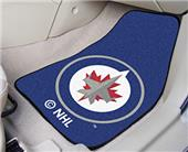 Fan Mats NHL Winnipeg Jets Carpet Car Mats (set)