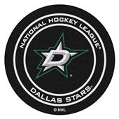 Fan Mats NHL Dallas Stars Puck Mats