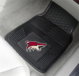 Fan Mats NHL Arizona Coyotes Vinyl Car Mats (set)