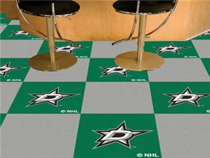 Fan Mats NHL Dallas Stars Team Carpet Tiles