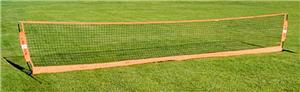 "Bow Net 18'x2'9"" Portable Soccer Tennis Net"