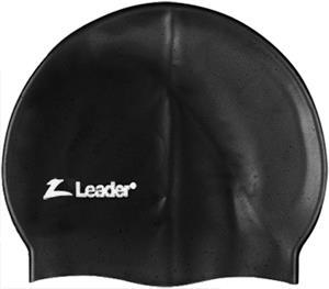 Leader Medley 100% Silicone Racer Swim Cap