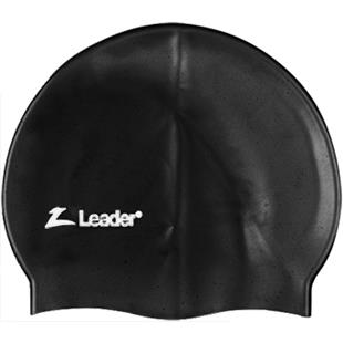 Leader Medley 100% Silicone Racer Swim Cap
