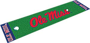 University of Mississippi Putting Green Mat
