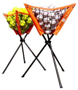 Bow Net Baseball Portable Batting Practice Caddy