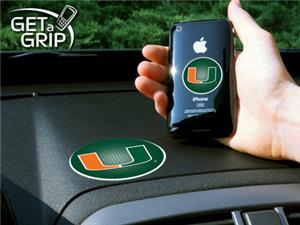 Fan Mats University of Miami Get-A-Grips