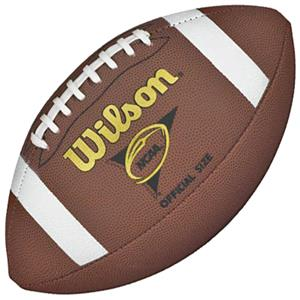 Wilson NCAA Composite Footballs (Set of 6)