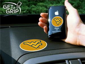 Fan Mats West Virginia University Get-A-Grips