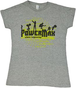 "PowerMax Men & Womens TShirt ""Athlete Engineering"""