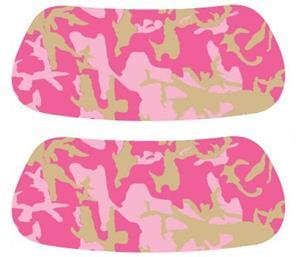 Pink Camouflage EYEBLACK Strips
