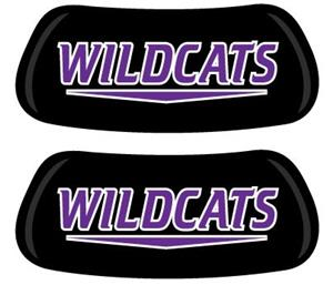 Wildcats EYEBLACK Strips