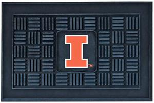 Fan Mats University of Illinois Door Mat