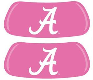 University of Alabama Pink EYEBLACK Strips
