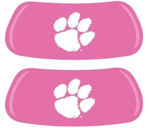 Clemson Tigers Pink EYEBLACK Strips