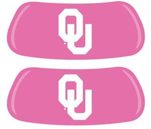 Oklahoma Sooners Pink EYEBLACK Strips