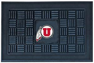 Fan Mats University of Utah Door Mat