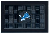 Fan Mats NFL Detroit Lions Medallion Door Mat
