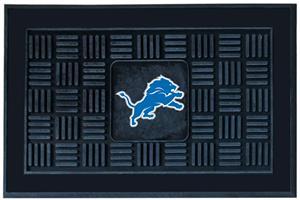 Fan Mats NFL Detroit Lions Medallion Door Mat