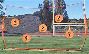Bow Net Football Quarterback Targets-ONLY TARGETS