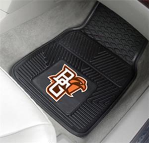 Bowling Green State Univ. 2-Piece Vinyl Car Mats