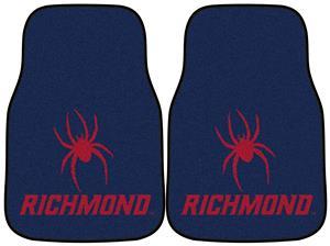 Fan Mats Univ of Richmond Carpet Car Mats (set)