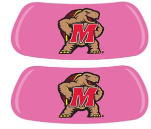 University of Maryland Pink EYEBLACK Strips