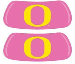 University of Oregon Pink EYEBLACK Strips