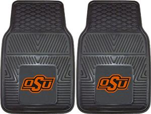 Oklahoma State University 2-Piece Vinyl Car Mats