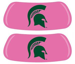 Michigan State Spartans Pink EYEBLACK Strips