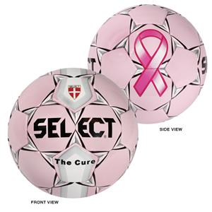 Select NFHS/NCAA The Cure Soccer Ball