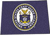 Fan Mats US Coast Guard Academy Seal Starter Mat