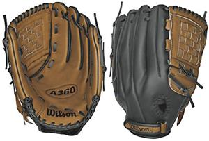 "Wilson 12.5"" All Positions Baseball Pigskin Gloves"